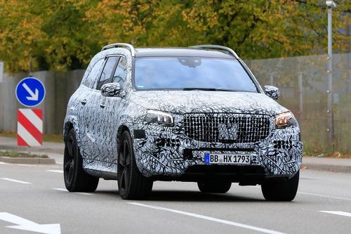 Mercedes-Maybach GLS, le foto spia (2)