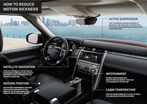 Mal d'auto? Le auto a guida autonoma lo eviteranno (2)