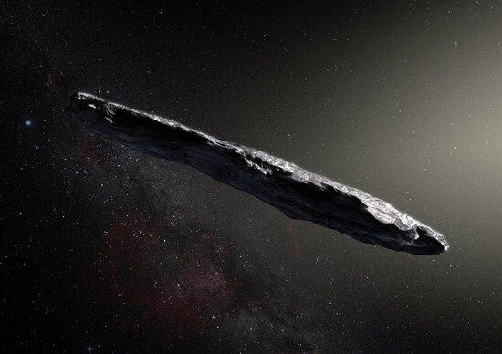 Oumuamua, astronave aliena o asteroide?