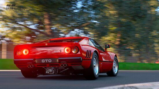 La Ferrari GTO '84, una delle auto più iconiche del Cavallino Rampante