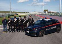 Paolo Andreucci istruttore di guida per i Carabinieri