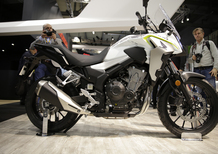 EICMA 2018: Honda CB500X 2019, foto, video e dati