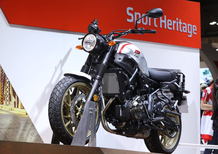 EICMA 2018: Yamaha XSR 700 Xtribute, foto e video