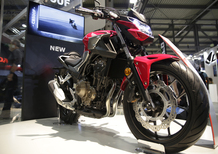 EICMA 2018: Honda CB500F, foto, video e dati