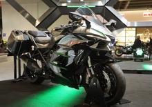 EICMA 2018: Kawasaki Ninja H2 SX SE+, foto e dati