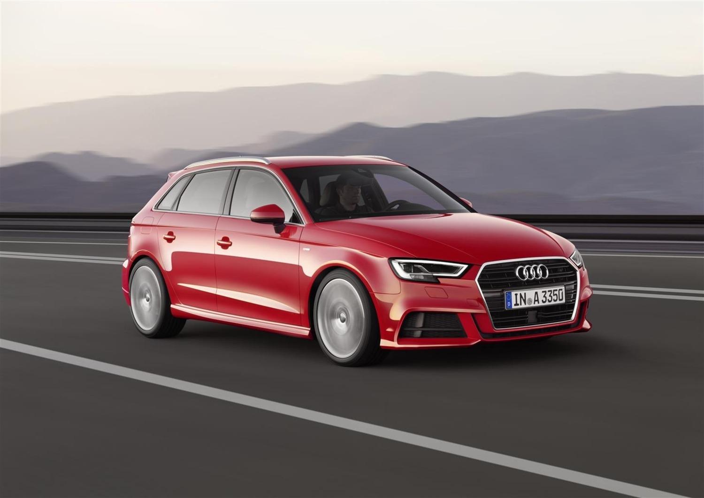 Audi A3 Sportback, nuovo allestimento Admired