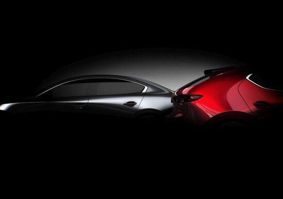 Mazda 3, il teaser della nuova generazione [Video]
