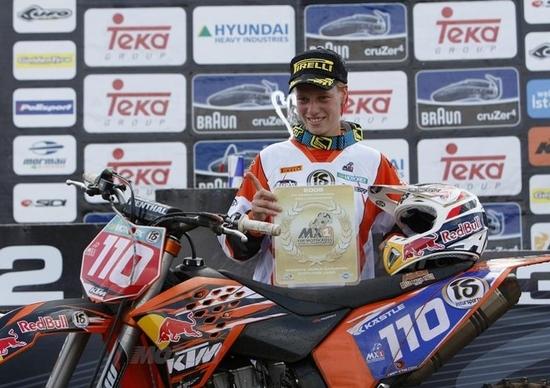 Stephanie Laier è ancora Campionessa del Mondo di Motocross