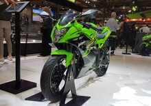 EICMA 2018: Kawasaki Ninja 125 e Z125, video