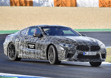 BMW M8, svelati i dati tecnici