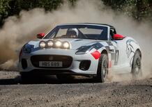 Jaguar ha costruito due F-Type da rally