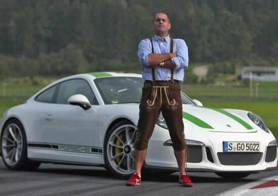 Chris Harris vittima di un incidente con la sua Porsche in UK