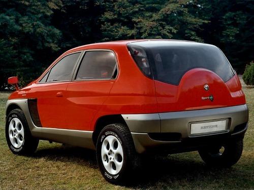 Alfa Romeo Sportut, il SUV del Biscione (mai) nato 20 anni fa (2)