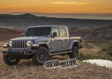 Jeep Gladiator, ecco le immagini trapelate dal sito ufficiale