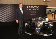 Geox in Formula E con il team Geox Dragon per la stagione 2018-2019