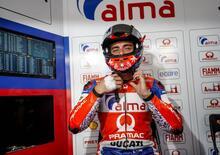 MotoGP. FP2, ancora pioggia. Petrucci il più veloce