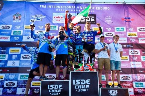 ISDE 2018, Maglia Azzurra, Day 6: Campioni del mondo Junior! (5)