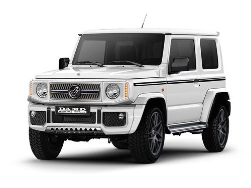 Classe G o Defender? No, Suzuki Jimny Special [video - foto gallery] (2)