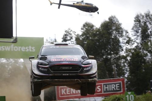 WRC18 Australia. Sébastien Ogier & Malcolm Wilson (2)