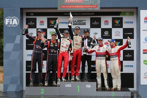 WRC18 Australia. Sébastien Ogier & Malcolm Wilson (5)