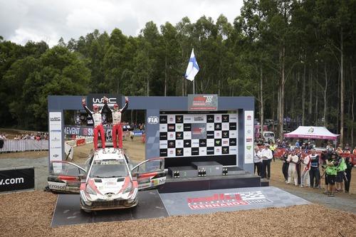 WRC18 Australia. Sébastien Ogier & Malcolm Wilson (9)