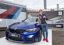 Marc Marquez vince per la 6^ volta il BMW M Award, per lui una M3 CS