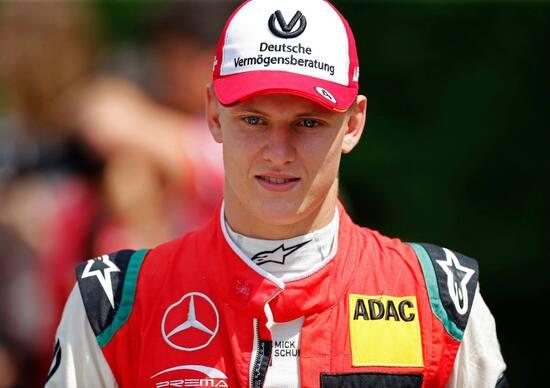Mick Schumacher in coppia con Vettel alla Race of Champions