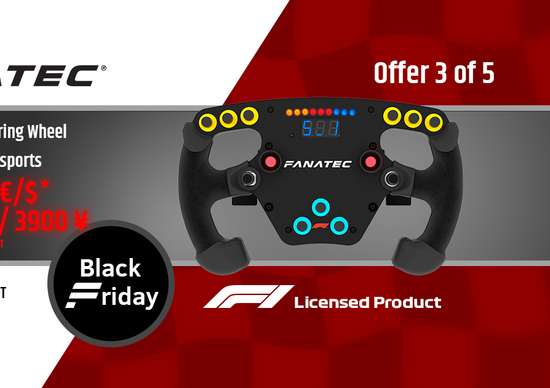 e10c0ee1be01 Fanatec, ecco le offerte per il Black Friday - News - Automoto.it
