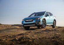 Subaru Crosstrek Hybrid, la 1^ ibrida plug-in della Casa giapponese