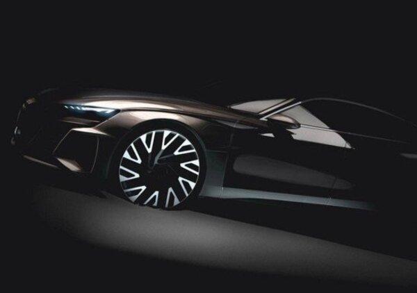 Audi e-tron GT, debutto al Salone di Los Angeles 2018