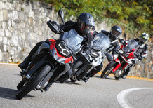 BMW F850GS vs Honda Africa Twin vs Triumph Tiger 800 XCa: COMPARATIVA MAXIENDURO 1000
