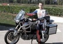 Jorge Lorenzo prova la nuova Yamaha Super Ténéré 1200