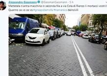 Alessandro Gassman critica via social i parcheggiatori in doppia fila di Roma