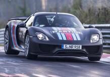 Porsche, l'erede dalla 918 dovrà girare al 'Ring in 6:30