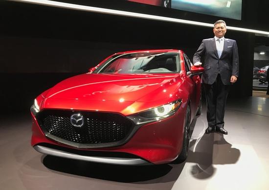 Salone di Los Angeles 2018, Beppu: «Mazda3? Una sfida ingegneristica»