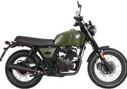 Brixton Motorcycles BX 125 X Scrambler EFI (2017 - 19) nuova