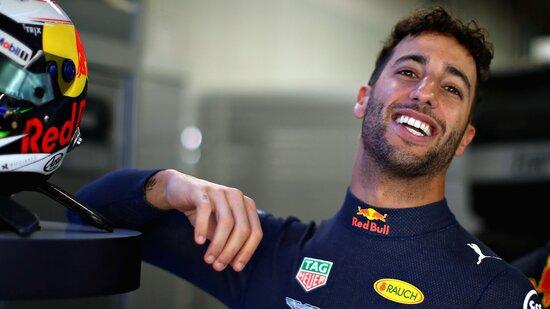 Un sorridente Daniel Ricciardo