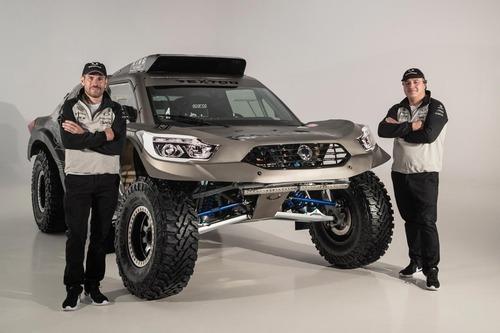 SsangYong Rexton DKR, al via della Dakar 2019 (3)