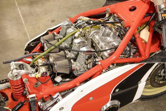 Il motore della Bimota SB2