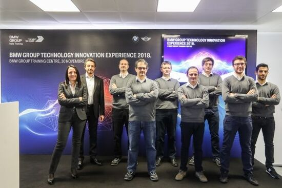 La squadra di formatori BMW Italia, a San Donato