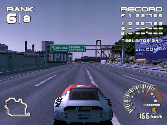 Derapate al limite ma anche Time Attack su Ridge Racer Type 4