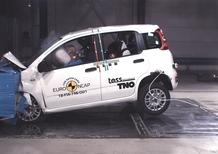 Fiat Panda, zero stelle nei test Euro NCAP [Video]