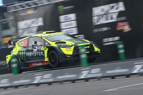 Monza Rally Show 2018, Day1: Rossi al comando, Suninen insegue