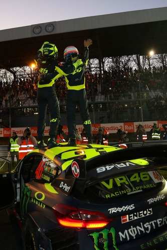 Monza Rally Show 2018: vittoria schiacciante di Valentino Rossi (4)