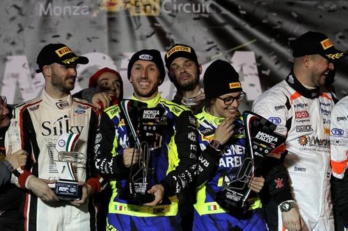 Monza Rally Show 2018: super Cairoli batte Rossi al Masters' Show (3)