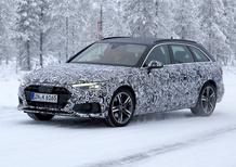Audi A4 2020, le prime foto spia