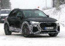 Audi RS Q3, ecco le foto spia del SUV