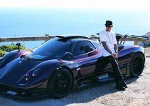 Lewis Hamilton sulla (sua) Pagani Zonda: l'auto peggiore, da guidare [video]