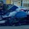 McLaren Senna distrutta in un incidente