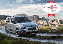 Citroën Berlingo vince il premio AutoBest 2019
